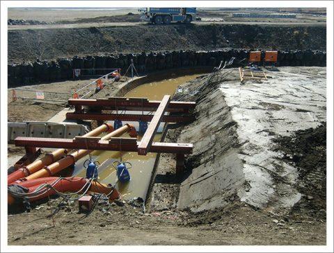 排水樋管改築工事
